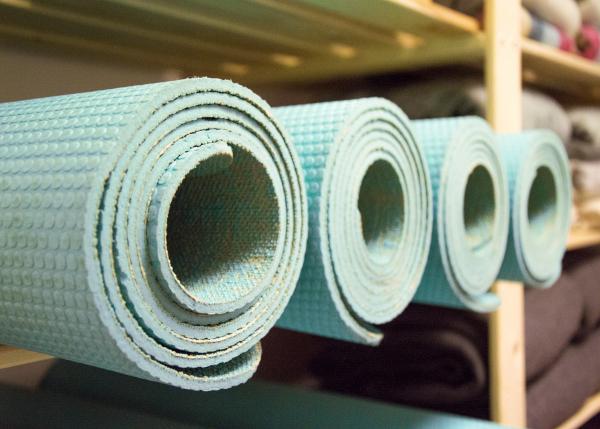 Yoga matten studio Sterrenyoga